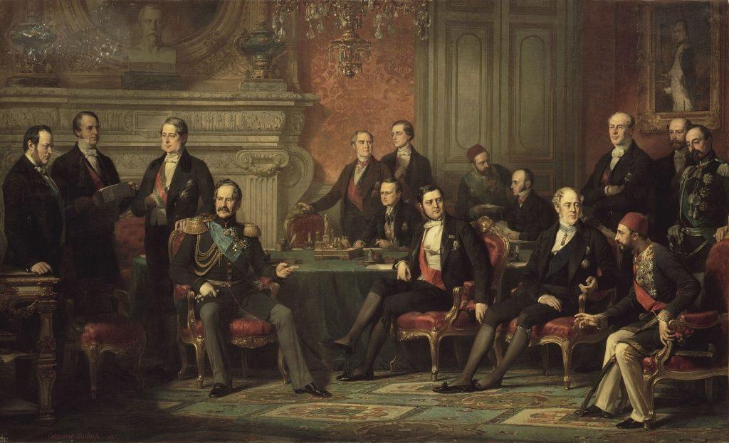 «Подписание Парижского мирного договора»