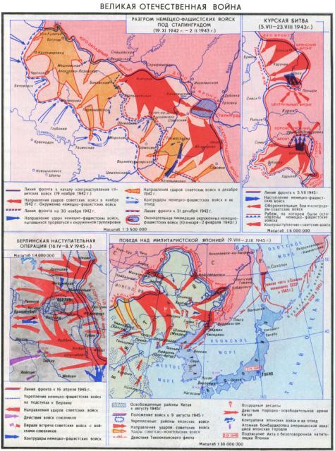 Великая Отечественная война 1942-1945 гг.