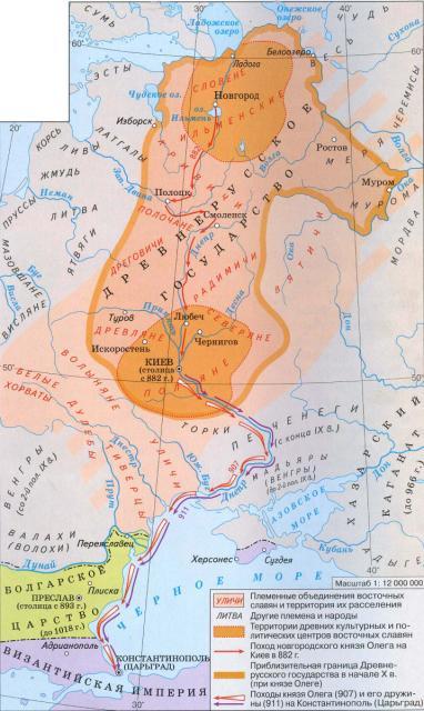 Киевская Русь (образование)