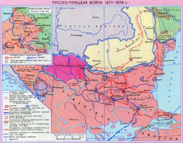Русско-турецкая война 1877-1878 гг