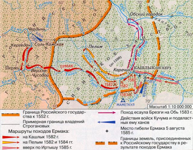 Сибирская экспедиция Ермака