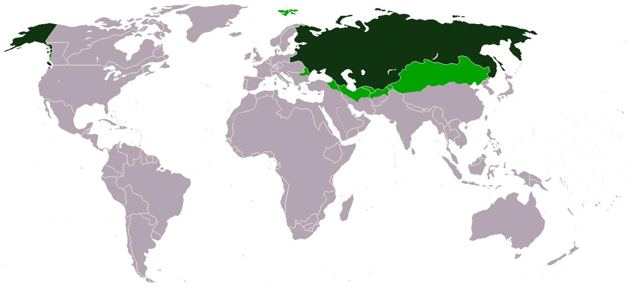 Территория России до Батыева нашествия – 1237 год.