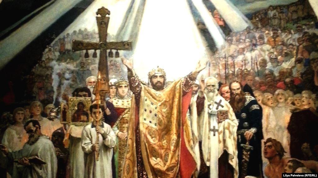 Виктор Васнецов. Крещение Руси. 1885-1896 гг.