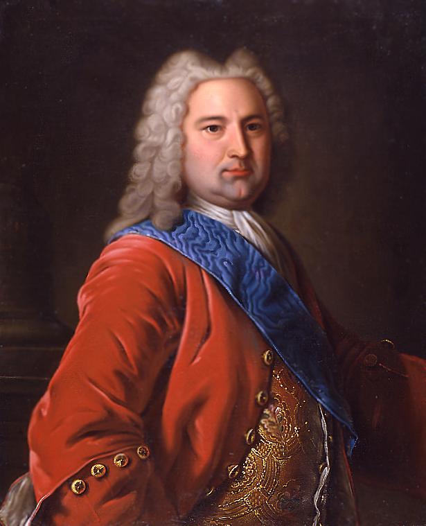 Неизвестный художник. Портрет герцога Курляндского Эрнста Иоганна Бирона